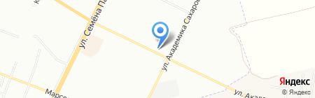 Торгово-монтажная фирма на карте Одессы