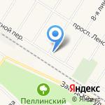 Ключ на карте Санкт-Петербурга