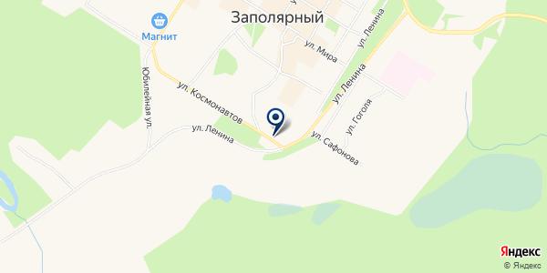 НОТАРИУС АТРОШЕНКОВ А.В. на карте Полярном