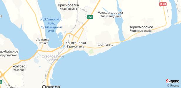 Лески на карте