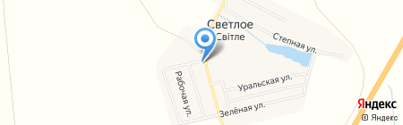 Местечко на карте Ильичёвки