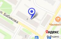 Схема проезда до компании БАКАЛЕЙНАЯ БАЗА в Заполярном