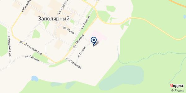 МАГАЗИН АВТОЗАПЧАСТЕЙ АВТОМАГИЯ на карте Заполярном