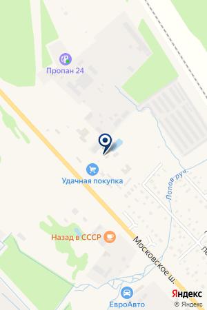 АВТОСТОЯНКА ЭРДИКА на карте Тосно