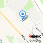 Русская Деревня на карте Санкт-Петербурга
