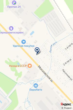 ПТФ БУРАКОВ на карте Тосно