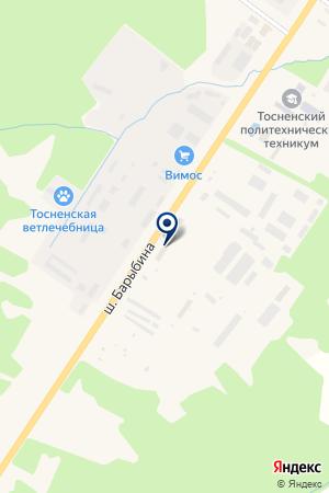 ЭКОСПЕЦТРАНС на карте Тосно