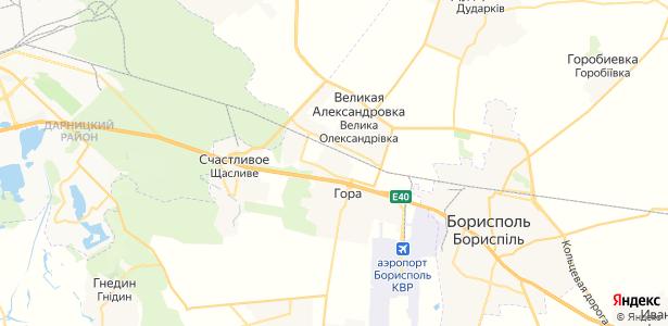 Чубинське на карте