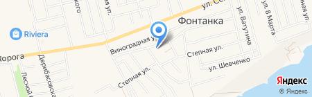Продуктовый магазин на Патриотической (Фонтанка) на карте Фонтанки