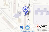 Схема проезда до компании КАНАЛИЗАЦИОННАЯ ПЕРЕКАЧКА КГ-3 № 3 в Тосно
