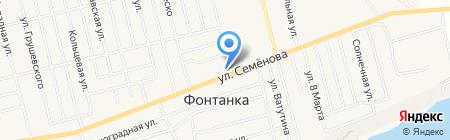Нотариус Корчевская Т.И. на карте Фонтанки