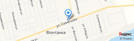 Магазин строительных и отделочных материалов на карте Фонтанки