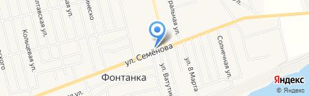 Центр на карте Фонтанки