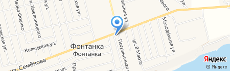 Шиномонтажная мастерская на карте Фонтанки