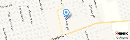 Ранчо на карте Фонтанки