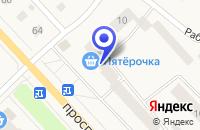 Схема проезда до компании МЯСНОЙ МАГАЗИН САВИЦКИЙ В.В. в Тосно