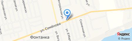 КБ ПриватБанк на карте Фонтанки