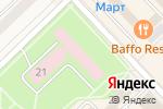 Схема проезда до компании Продовольственный магазин в Тосно