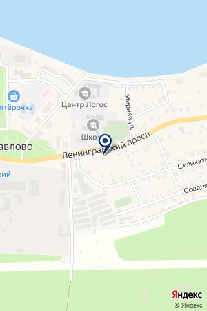 ДОРОЖНО-СТРОИТЕЛЬНАЯ ФИРМА СПЕЦДОРСТРОЙ на карте Кировска