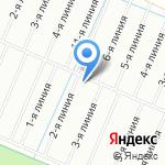 Полёт на карте Санкт-Петербурга