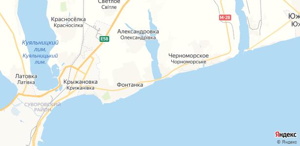 Вапнярка на карте