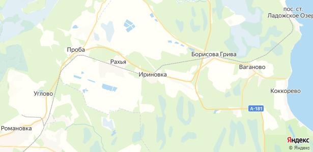 Ириновка на карте
