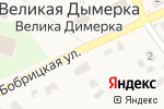 Схема проезда до компании Скриня в Велике Димерка
