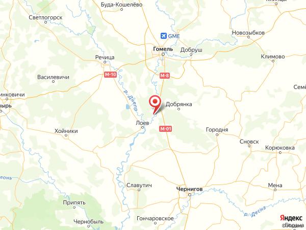 поселок Карповка на карте