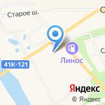 ЛадогаВет на карте Санкт-Петербурга
