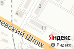 Схема проезда до компании Бориспільська центральна аптека №24, КП в