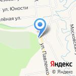 Невская Дубровка на карте Санкт-Петербурга