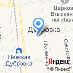 Детская школа искусств на карте Санкт-Петербурга