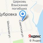 Храм во имя Иконы Божией Матери Взыскание Погибших на карте Санкт-Петербурга