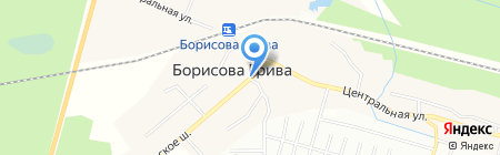 Киоск по продаже рыбы на карте Борисовой Гривы