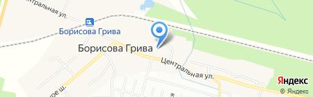 Часовня иконы Божией Матери Умиление на карте Борисовой Гривы