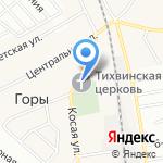 Церковь Тихвинской иконы Божией Матери на карте Санкт-Петербурга