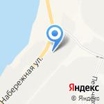 Вектор на карте Санкт-Петербурга