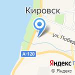 Магазин спорттоваров на карте Санкт-Петербурга