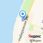 Автовокзал на карте Санкт-Петербурга