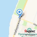 Восточный уголок на карте Санкт-Петербурга