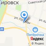 Ритуальные услуги на карте Санкт-Петербурга