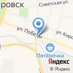 Путиловский хлеб на карте Санкт-Петербурга