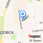 Белоранж на карте Санкт-Петербурга
