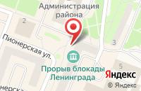 Схема проезда до компании ФАРМАДОМ в Кировске