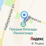 Рыбак на карте Санкт-Петербурга