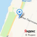 Парадиз студио на карте Санкт-Петербурга