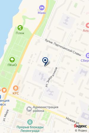 КБ ВТБ на карте Кировска