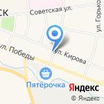 Следственный отдел по г. Кировск на карте Санкт-Петербурга