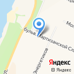 Нева Сити на карте Санкт-Петербурга