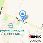 Путилово на карте Санкт-Петербурга